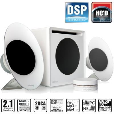 Microlab FineCone FC50W Desktop Speakers with Subwoofer