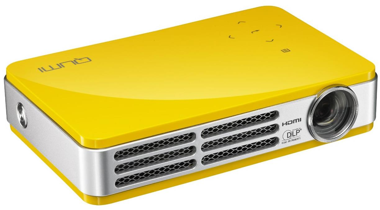 Vivitek Qumi Q5 LED Palm Projector - Yellow
