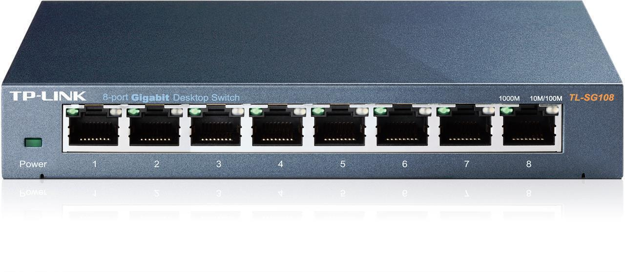TP-Link TL-SG108 8 Port Gigabit Desktop Switch