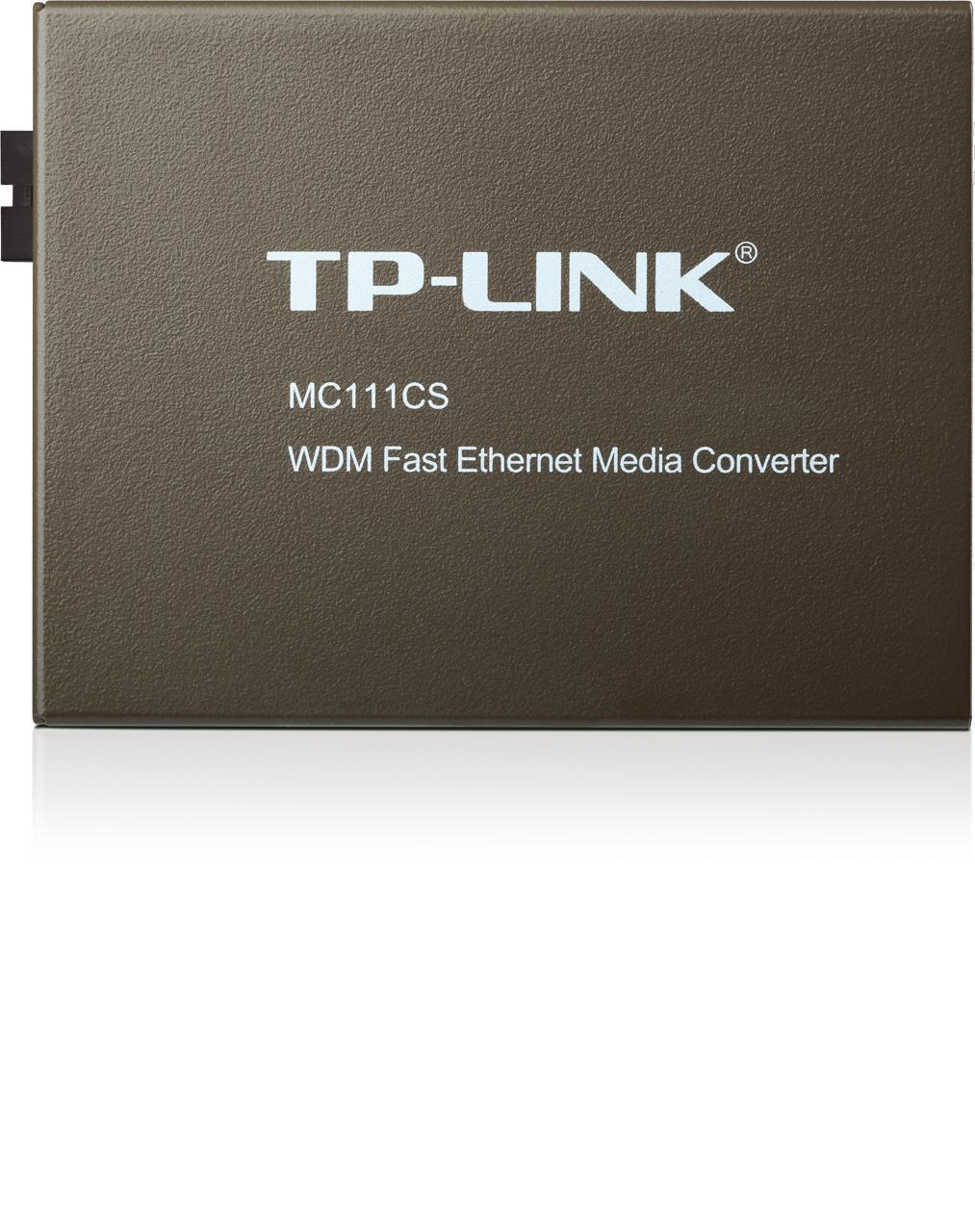 TP-LINK MC111CS Transceiver/Media Converter