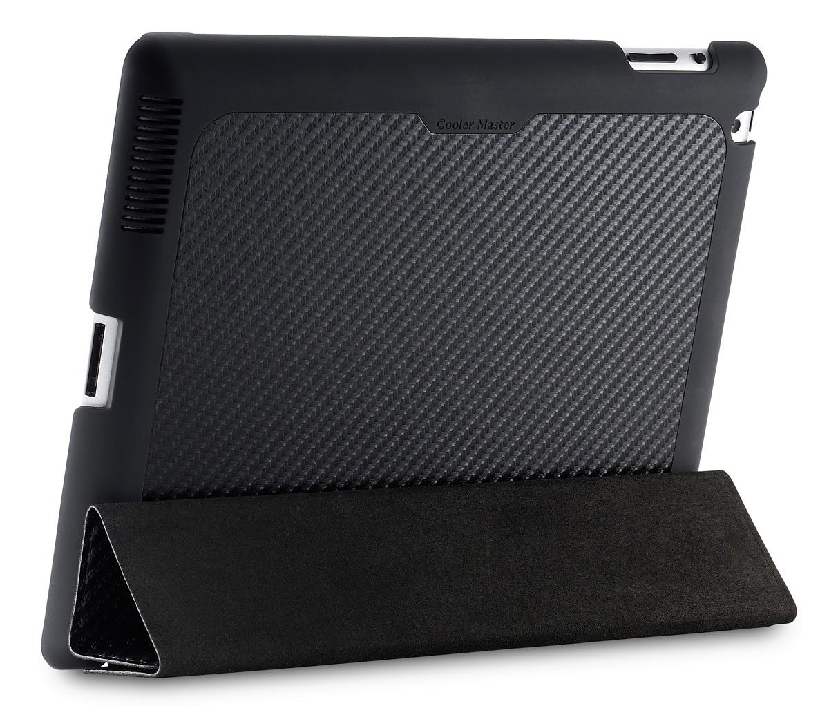Cooler Master Mobile iPad Wake Up Folio - Carbon Black