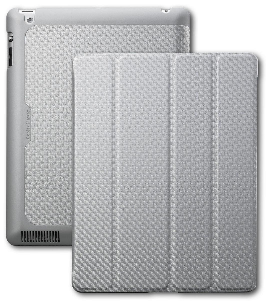 Cooler Master Mobile iPad Wake Up Folio - Carbon Silver