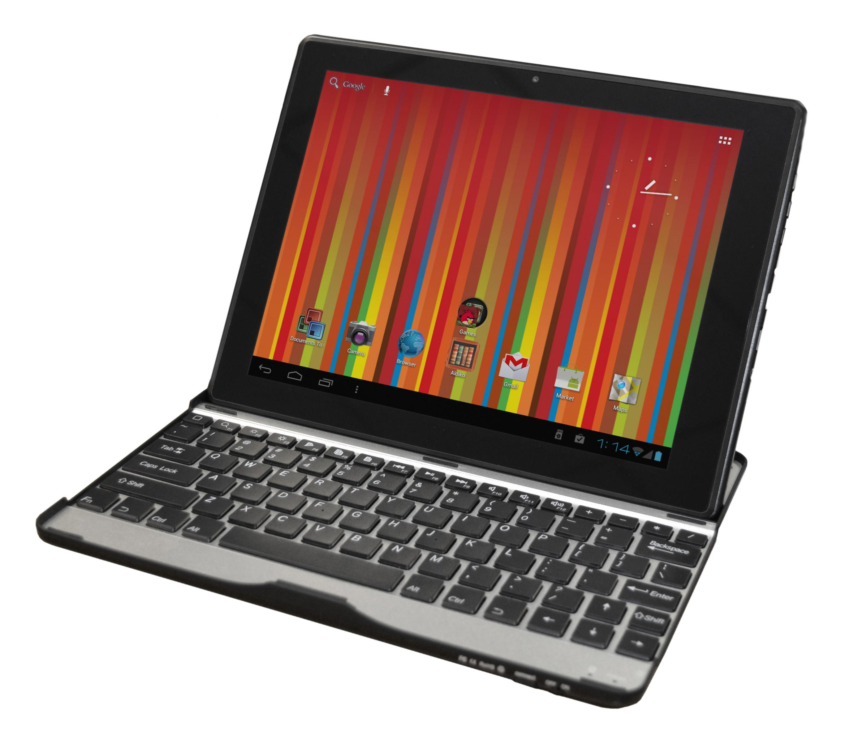 "10313BK Gemini JoyTAB Duo 9.7"" 16GB Pro Dual Core Tablet with BT Keyboard"