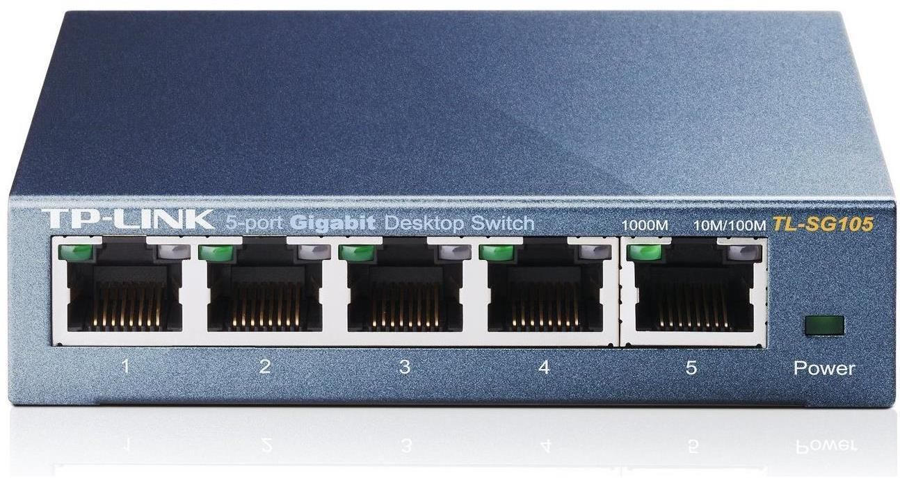 TP-Link TL-SG105 5 Port Gigabit Desktop Switch