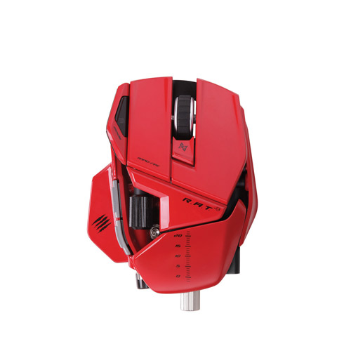 Mad Catz Cyborg R.A.T. 9 Wireless Gaming Mouse 6400Dpi (Red)