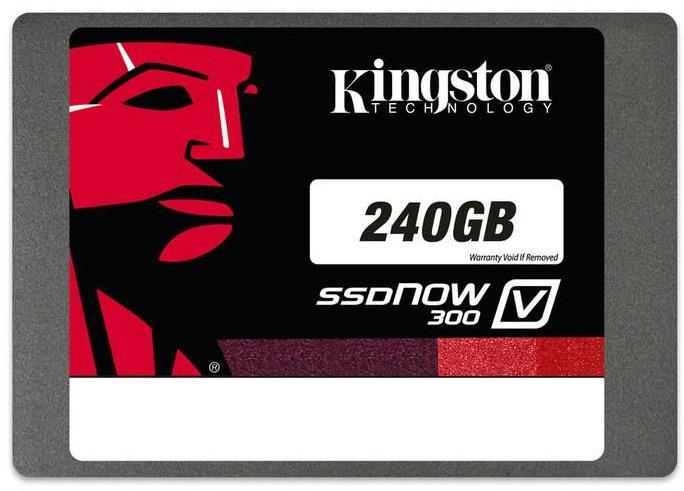Kingston Ssdnow V300 240Gb Sata 3 2.5 Inch Solid State Drive With Adapter