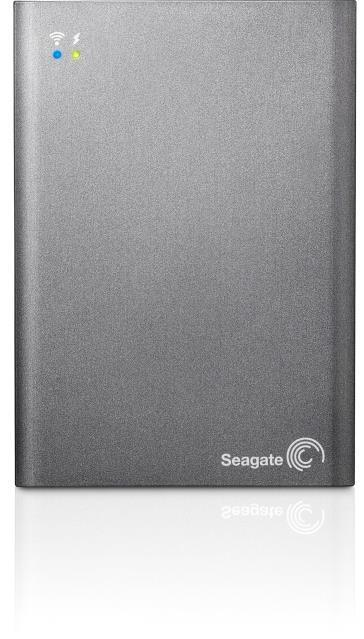 "Seagate 1TB Wireless Plus 2.5"" External Rechargeable Network Hard Drive"