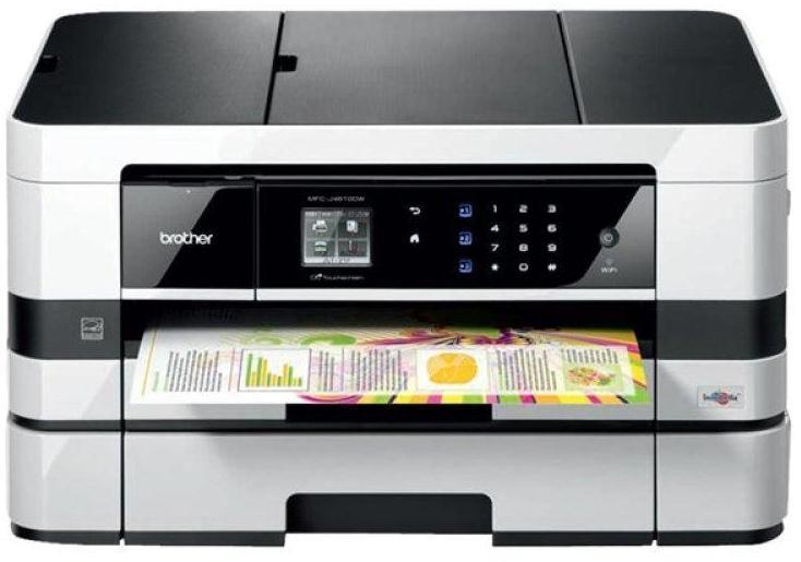 Brother MFC-J4610DW A3 Colour  Multifunction Inkjet Printer