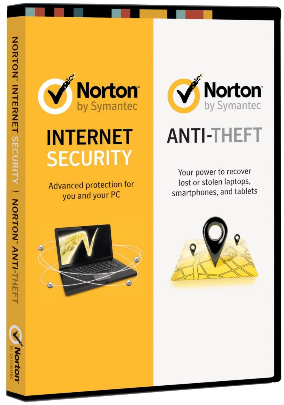 Symantec Norton Internet Security 2013 1 User + Norton Anti Theft 3 User