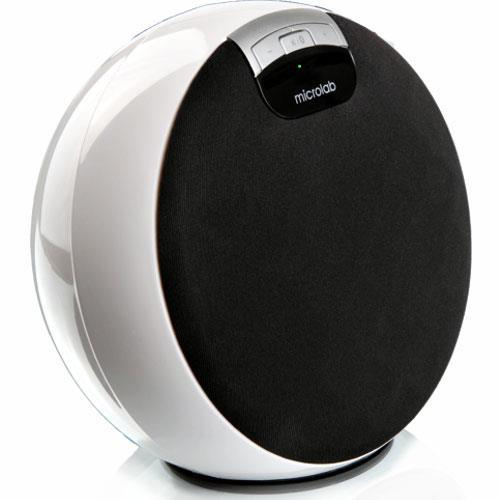 Microlab MD312 Portable Bluetooth 2.1 Speakers- White