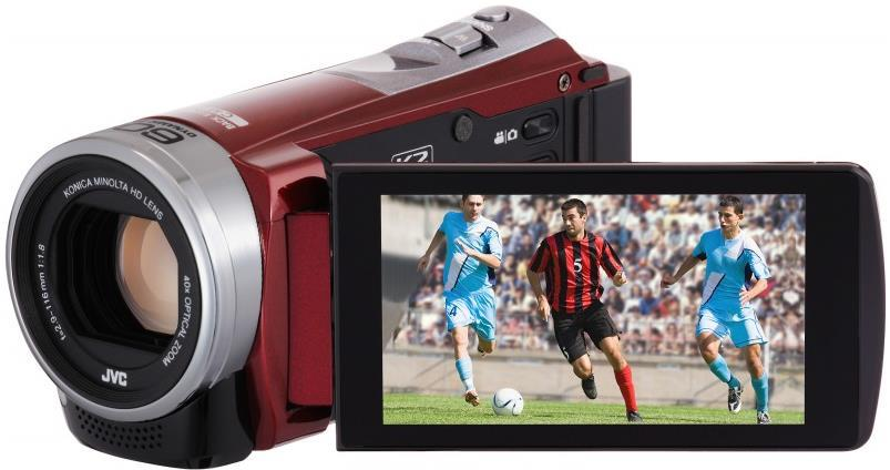 JVC GZ-E305REK Digital Camcorder