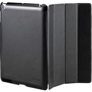 Cooler Master Leather folding case Ipad 2 3 4 Carrying Slip Case for iPad - Black