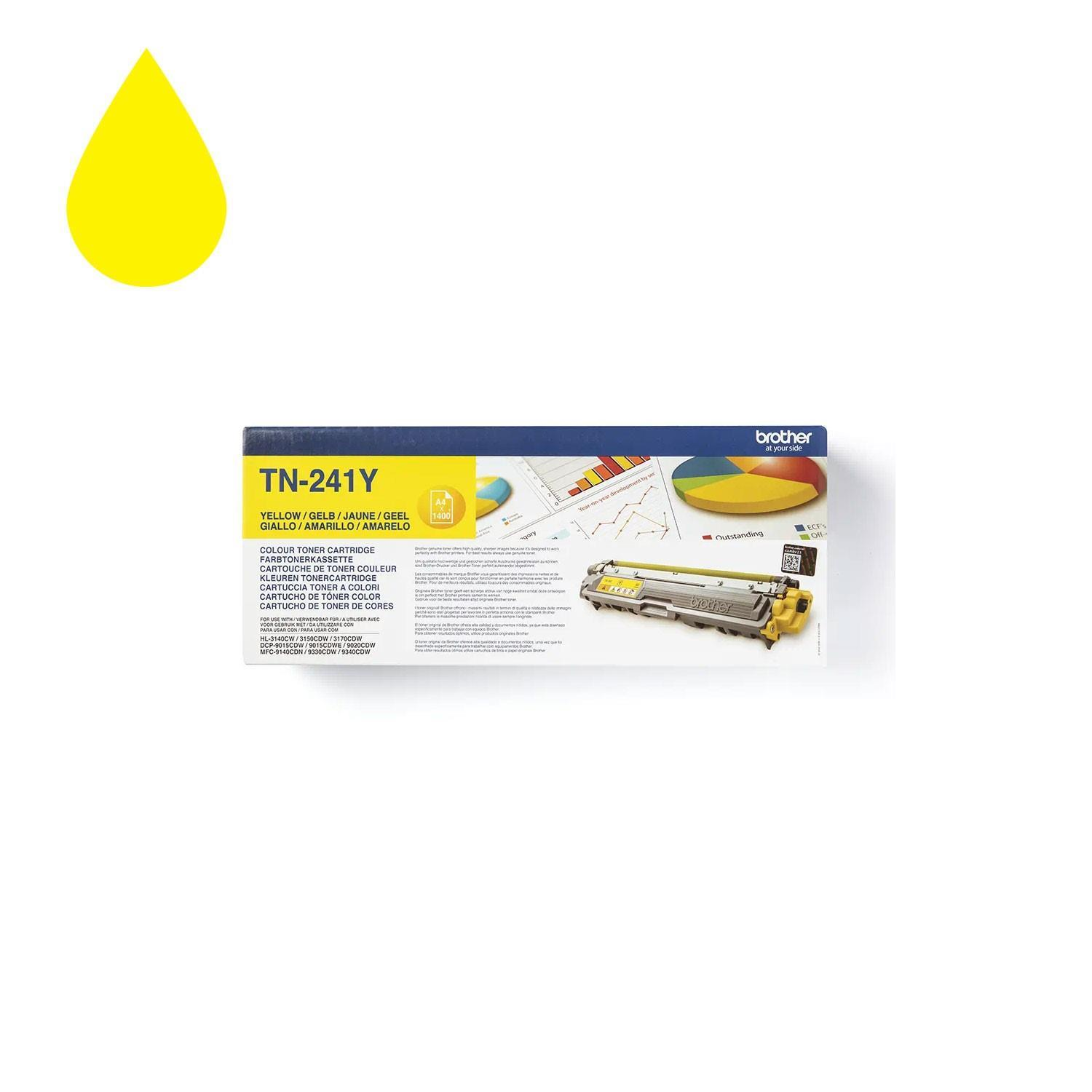 Brother TN 241Y Yellow Toner cartridge