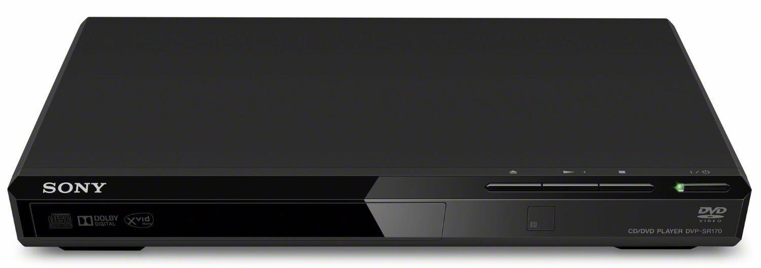 Sony DVPSR170B Slim DVD Player