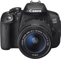 Canon EOS 700D 18 MP Digital SLR Camera (Body with Lens Kit)