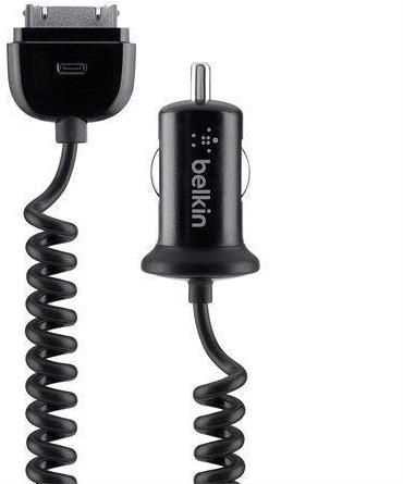 Belkin Car Cigerette Charger for iPhone iPads & ipods - LESS THAN HALF PRICE was £14.97