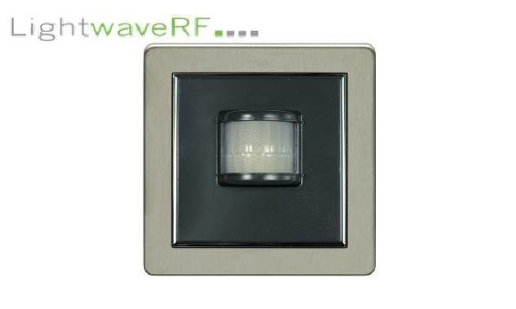 Lightwave Rf Wireless Pir Movement Detector - Stainless Steel