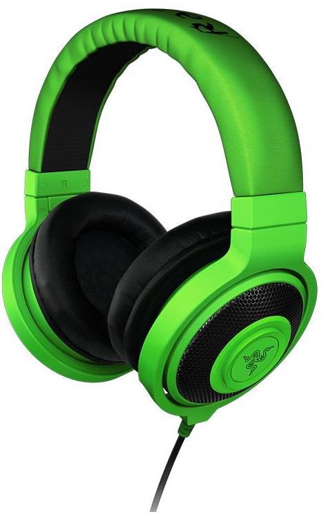 Razer Kraken Analog Music And Gaming Headphones (Green)