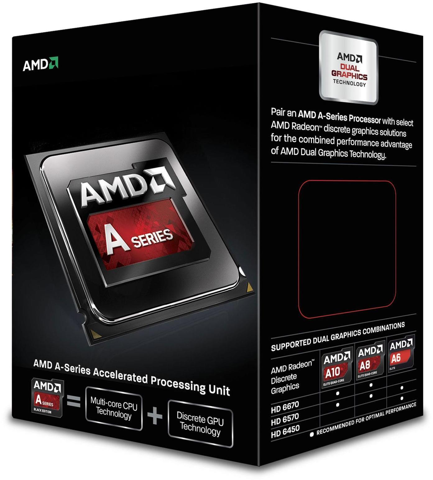 AMD A6 6400K Black Edition Dual Core Processor