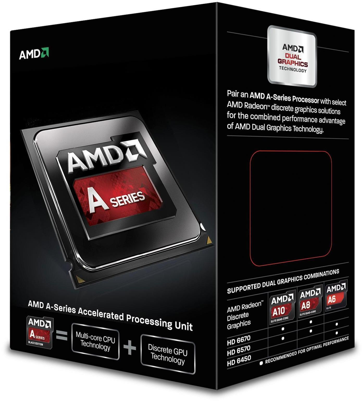 AMD A10 6800K Black Edition Socket CPU