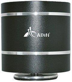 Adin B1BT 10W Vibration BT Bluetooth Speaker (Black)