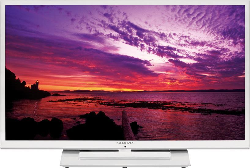 Sharp LC39LE351K/WHITE 39 Inch Smart LED TV