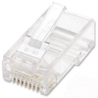 Intellinet 100-Pack Cat6 RJ45 Modular Plugs
