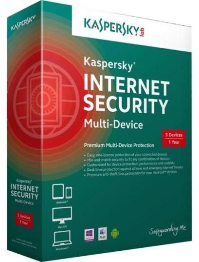 Kaspersky Software Internet Security 2014 Multi Device 5 User - 1 Year