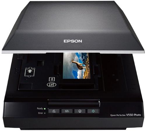 Epson V550 Perfection Photo Scanner with ReadyScan LED Technology