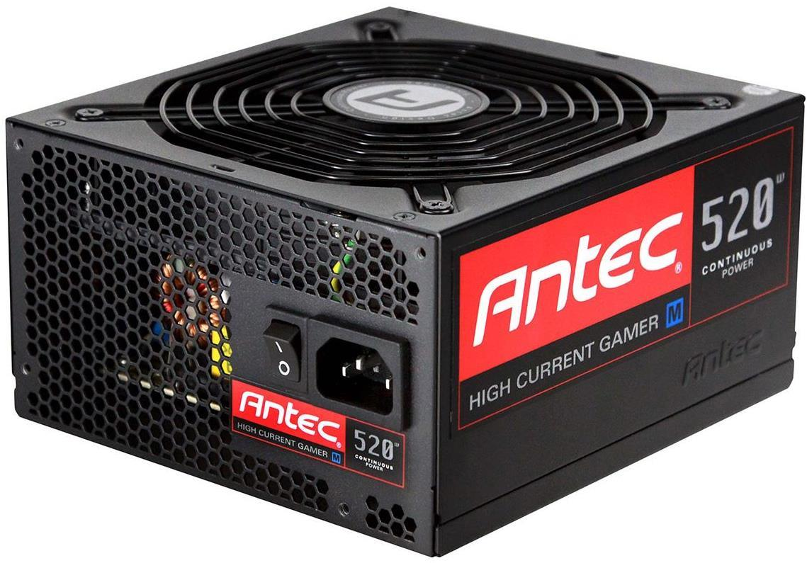 Antec HCG-520M 520W High Current Gamer PSU