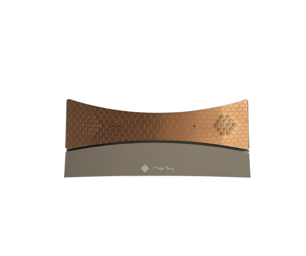 Native Union Honycomb BT Bluetooth Wireless Speaker (Taupe/Copper)