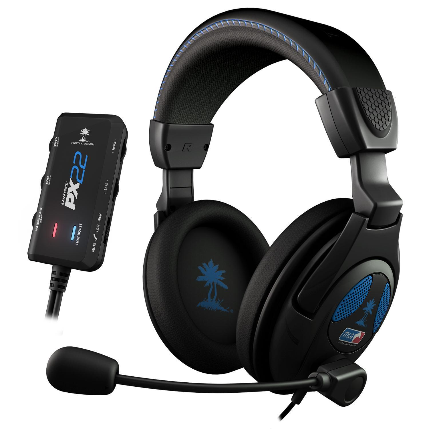 Turtle Beach Ear Force PX22 Amplified Universal Stereo Sound Gaming Headset (PS4)