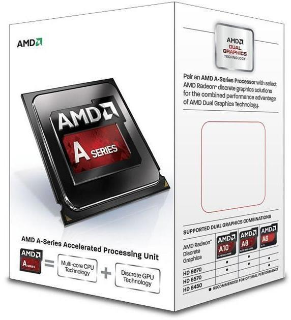AMD A4-6300 FM2 Dual Core Processor