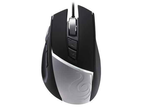 Cooler Master Reaper Professional Gaming Mouse - upto 8200 dpi and 8 programmable buttons with onboard memory and aluminium face plate