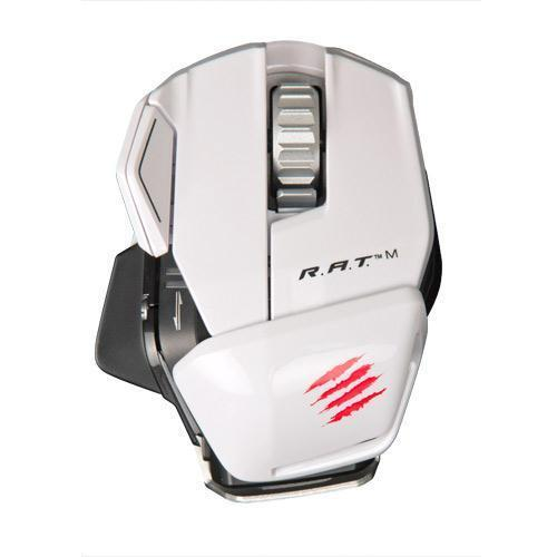 Mad Catz R.A.T. M Wireless Mouse (White)