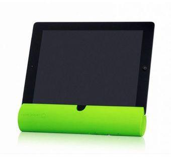 Carbon Audio Zooka Wireless Speaker Bar (Green) for iPad/iPhone/iPod