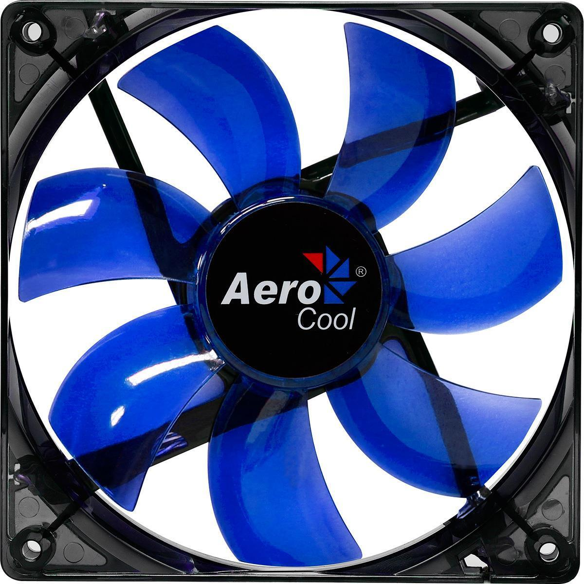 Aerocool Lightning Series Transparent 12Cm Blue Led Fan