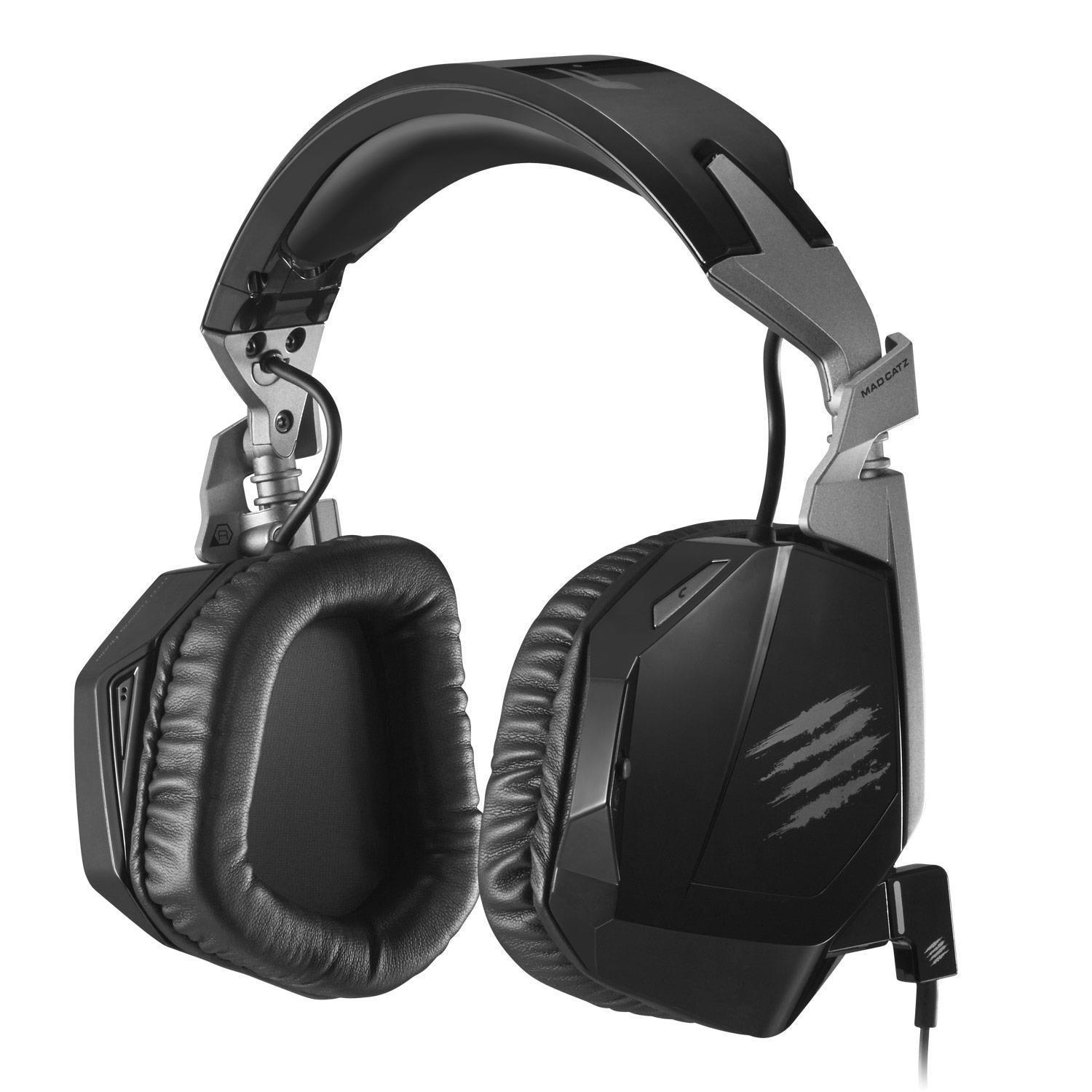Mad Catz F.R.E.Q. 3 Wired Stereo Gaming Headset (Black)