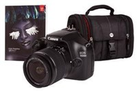Canon EOS 1100D 12.2 MP Digital SLR Camera (Body with Lens Kit) Bundle
