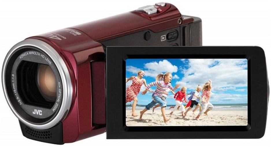 JVC GZ-E105REK Digital Camcorder