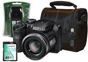 Fujifilm S4800 16MP Digital Bridge Camera Kit