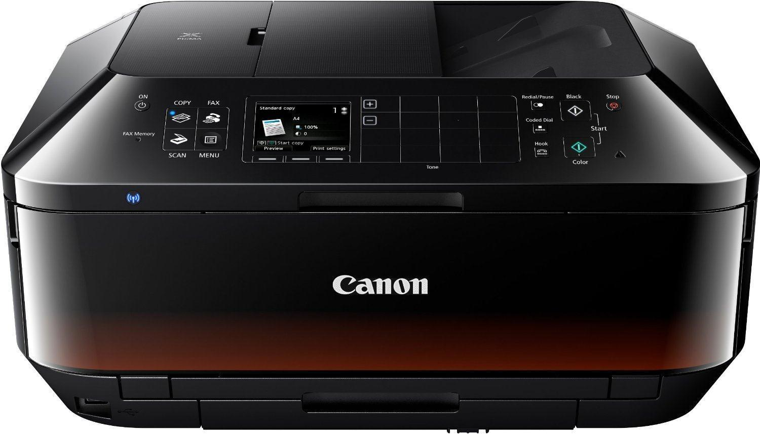 Canon Mx725 Premium  All In One Colour Inkjet  Printer