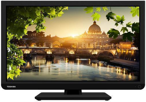 Toshiba 24D1433DB 24 Inch LED TV/DVD Combi