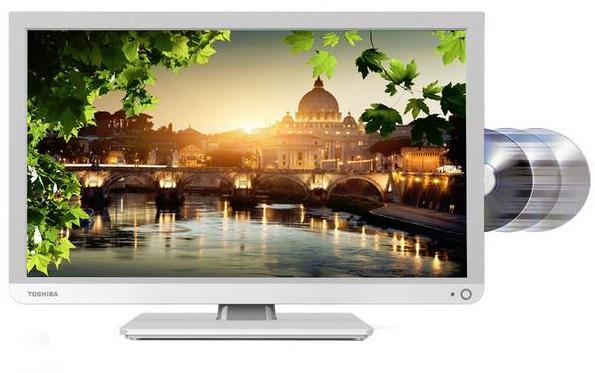 Toshiba 24D1434DB 24 Inch LED TV/DVD Combi