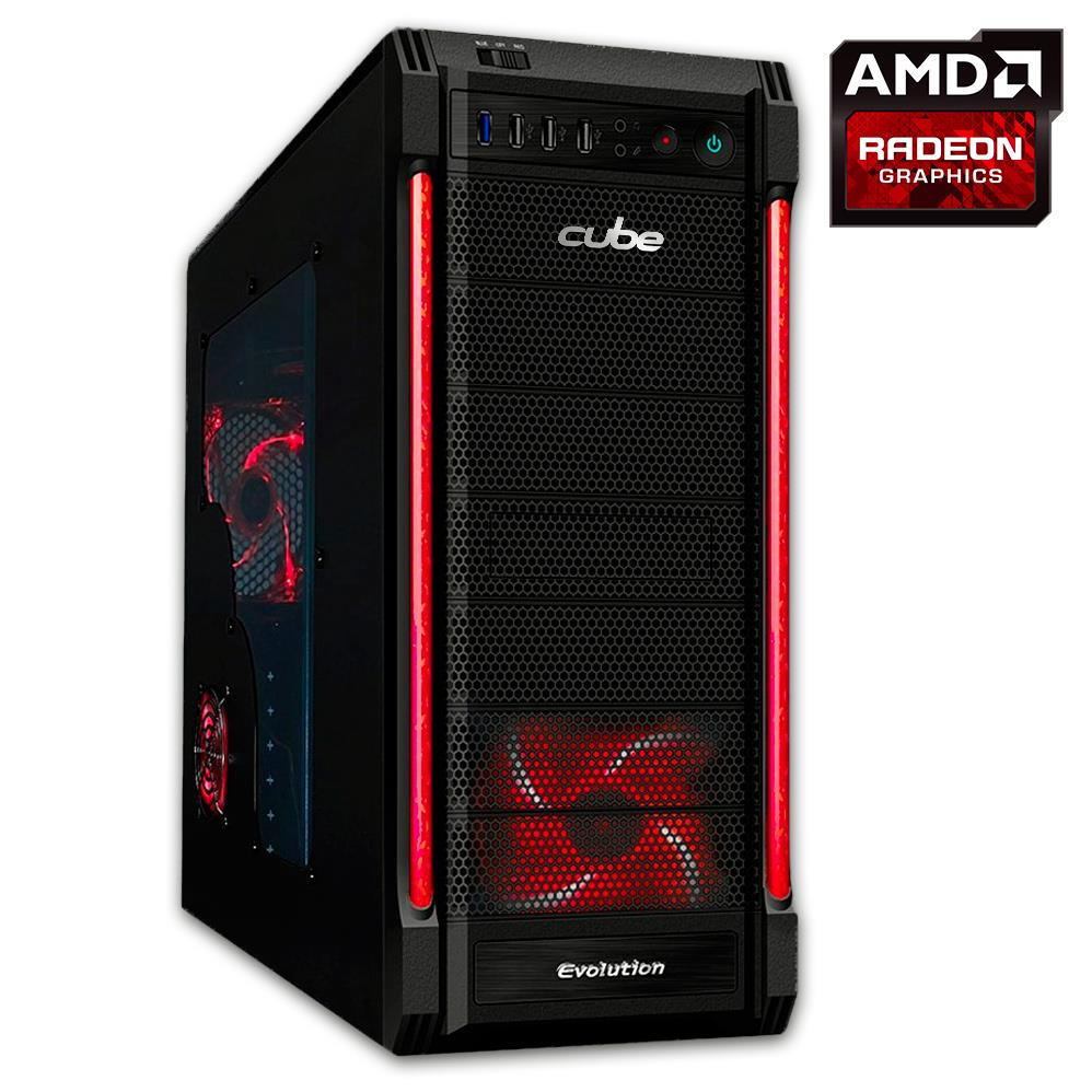 Cube Hurricane Gaming PC Core i7 with Radeon R7 260X Graphics