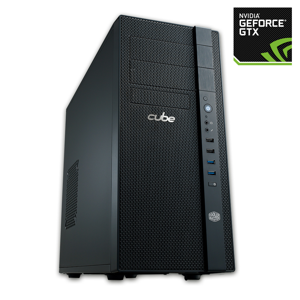 Cube Tornado Gaming PC Core i3 with Geforce GTX 660 Graphics