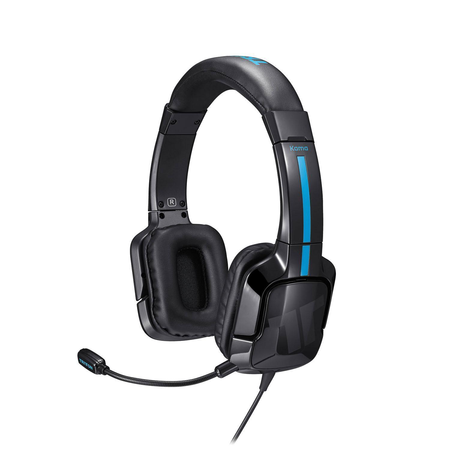 Tritton Kama Stereo Headset for PlayStation 4 / PS4 / PS Vita (Black)