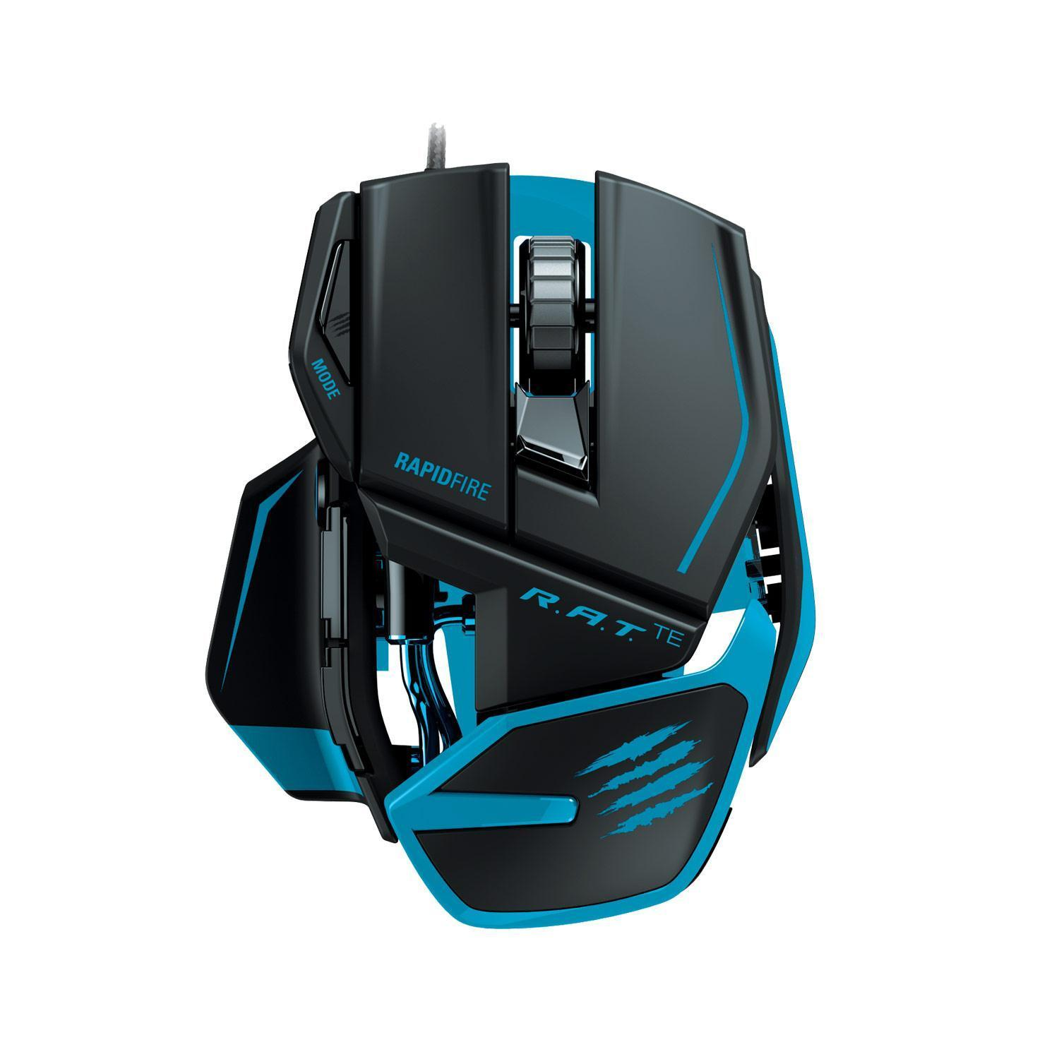 Mad Catz R.A.T. TE Tournament Edition 8200dpi Gaming Mouse for PC and Mac (Matte Black)