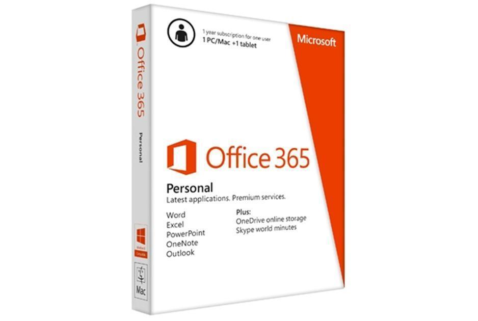 Microsoft Office 365 Personal 32/64-bit - Subscription Licence - 1 PC/Mac