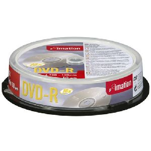 Imation 21978 DVD Recordable Media - DVD-R - 16x - 4.70 GB - 10 Pack Spindle
